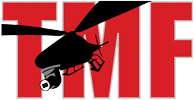 Tony Monk Films Logo. Aerial Filming Specialists